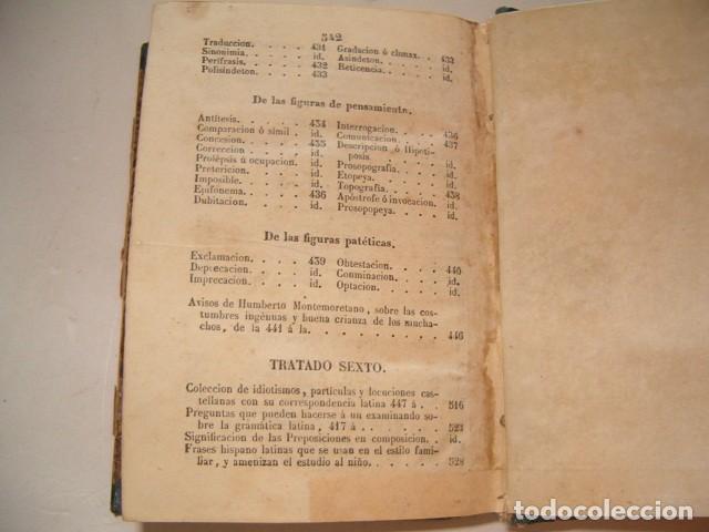 Libros antiguos: Colección Tratados Auxiliares para facilitar el estudio y enseñanza de la Lengua Latina. RM77712 - Foto 8 - 68562757