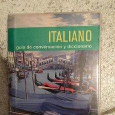 Libros antiguos: GUIA DE CONVERSACION - ITALIANO ESPAÑOL - PONS. Lote 156588198
