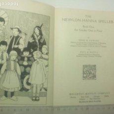 Libros antiguos: LIBRO ILUSTRADO DE USA PARA ENSEÑAR INGLES A LOS NIÑOS.INTERESANTE. 1933. Lote 78642934
