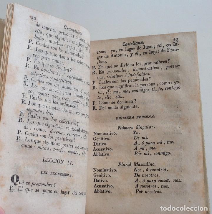 Libros antiguos: MATARO año 1830 * GRAMATICA CASTELLANA analogia y sintaxis * pergamino * 160 pgs - Foto 5 - 87653744