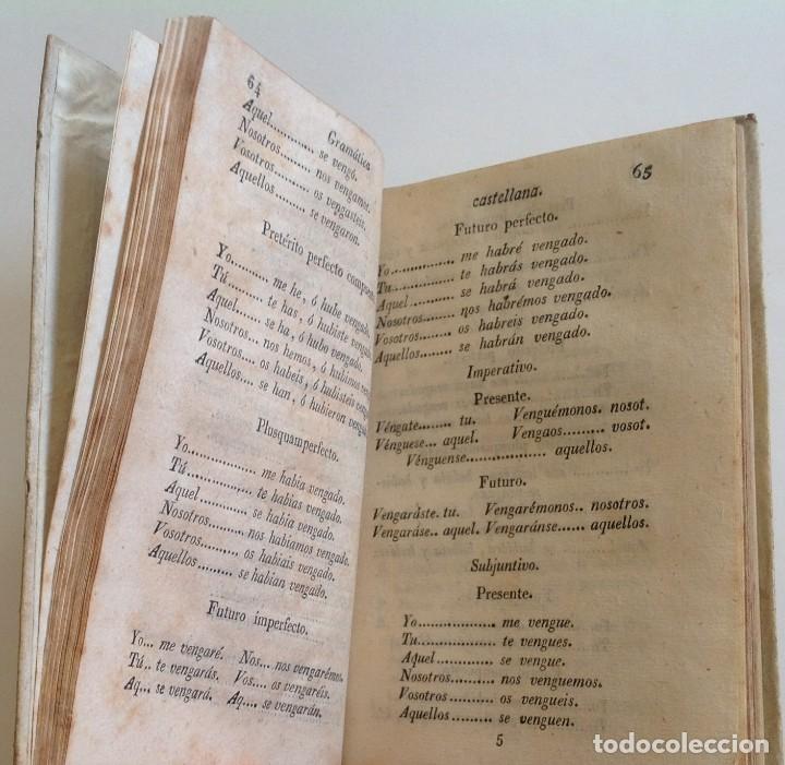 Libros antiguos: MATARO año 1830 * GRAMATICA CASTELLANA analogia y sintaxis * pergamino * 160 pgs - Foto 6 - 87653744