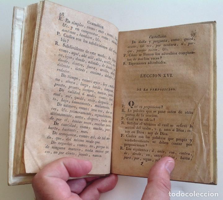 Libros antiguos: MATARO año 1830 * GRAMATICA CASTELLANA analogia y sintaxis * pergamino * 160 pgs - Foto 7 - 87653744