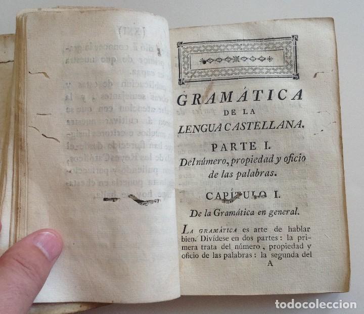 Libros antiguos: IBARRA año 1781 3ª edicion * GRAMATICA DE LA LENGUA CASTELLANA * real academia española - Foto 5 - 87654000