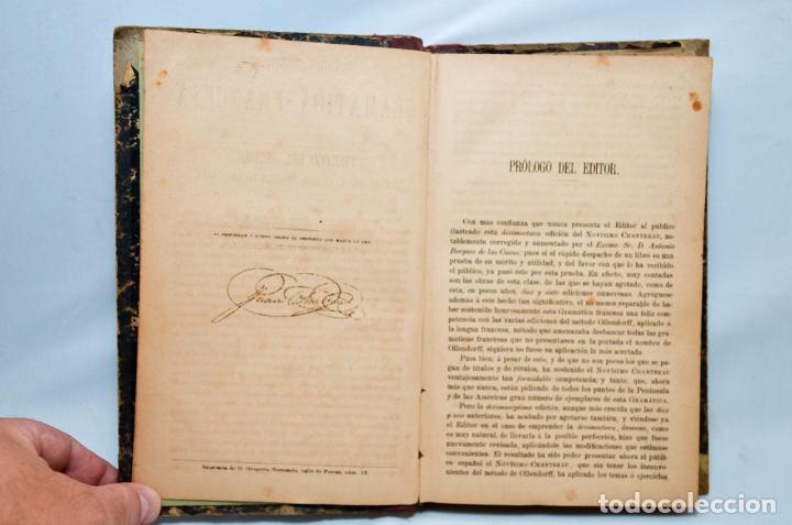 Libros antiguos: GRAMÁTICA FRANCESA – NOVISIMO CHANTREAU - Foto 3 - 95326020