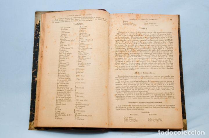 Libros antiguos: GRAMÁTICA FRANCESA – NOVISIMO CHANTREAU - Foto 4 - 95326020