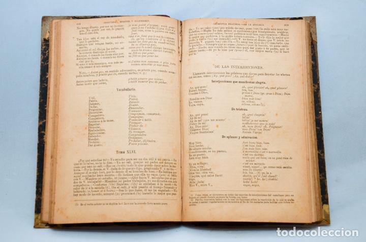 Libros antiguos: GRAMÁTICA FRANCESA – NOVISIMO CHANTREAU - Foto 5 - 95326020