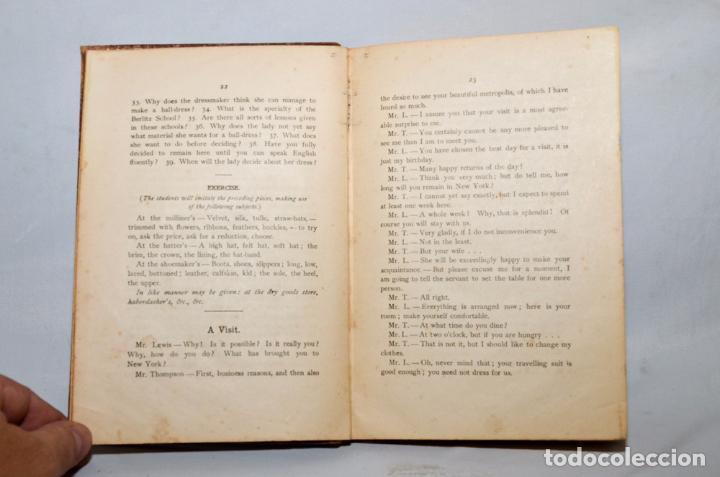 Libros antiguos: SECOND BOOK – M.D. BERLITZ - Foto 5 - 95326060
