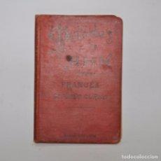 Libros antiguos: SEGUNDO CURSO DE FRANCÉS – METODO DE AHN. Lote 95325968