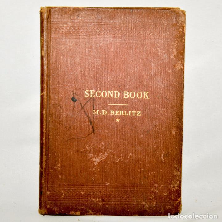SECOND BOOK – M.D. BERLITZ (Libros Antiguos, Raros y Curiosos - Cursos de Idiomas)