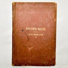 Libros antiguos: SECOND BOOK – M.D. BERLITZ. Lote 95326060