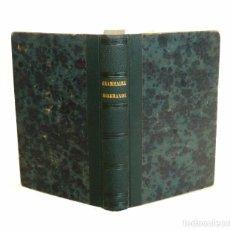 Libros antiguos: ESTRASBURGO, 1847 - ANTIGUA GRAMÁTICA DE LA LENGUA ALEMANA - ALEMÁN - LINGUÍSTICA - SIGLO XIX . Lote 96034087