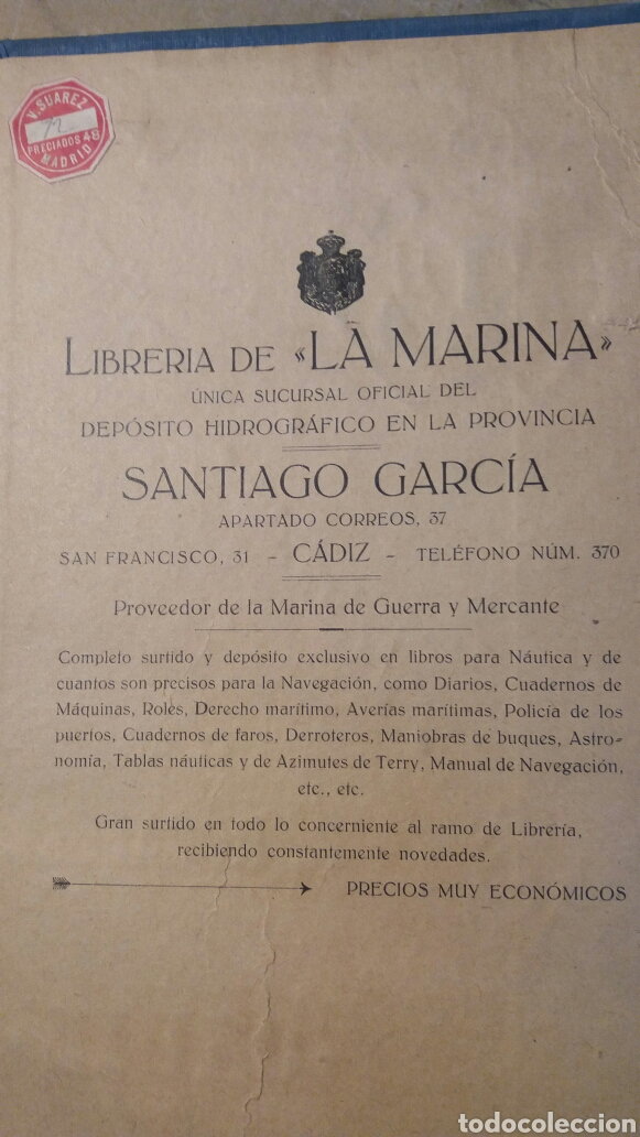Libros antiguos: Libro antiguo, Inglés práctico marítimo. Cádiz - Foto 2 - 96936172