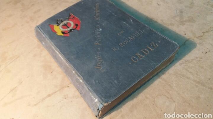 Libros antiguos: Libro antiguo, Inglés práctico marítimo. Cádiz - Foto 5 - 96936172