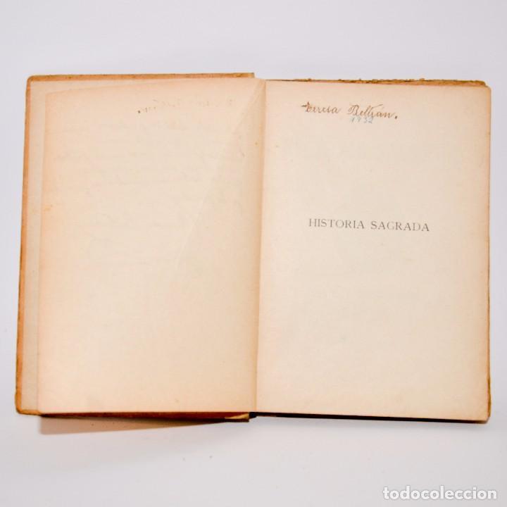 Libros antiguos: HISTÓRIA SAGRADA, ESTUDIO DEL ANTIGUO Y NUEVO TESTAMENTO - PRIMERO Y SEGUNDO GRADOS - Foto 4 - 99909007