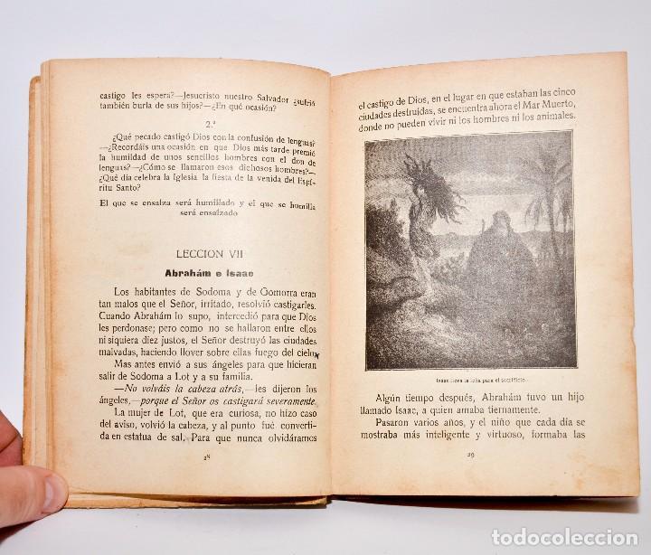 Libros antiguos: HISTÓRIA SAGRADA, ESTUDIO DEL ANTIGUO Y NUEVO TESTAMENTO - PRIMERO Y SEGUNDO GRADOS - Foto 5 - 99909007