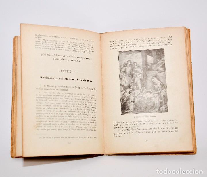 Libros antiguos: HISTÓRIA SAGRADA, ESTUDIO DEL ANTIGUO Y NUEVO TESTAMENTO - PRIMERO Y SEGUNDO GRADOS - Foto 6 - 99909007