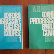 Libros antiguos: OXFORD PROGRESSIVE ENGLISH COURSE LIBROS 1 Y 2. Lote 100150075