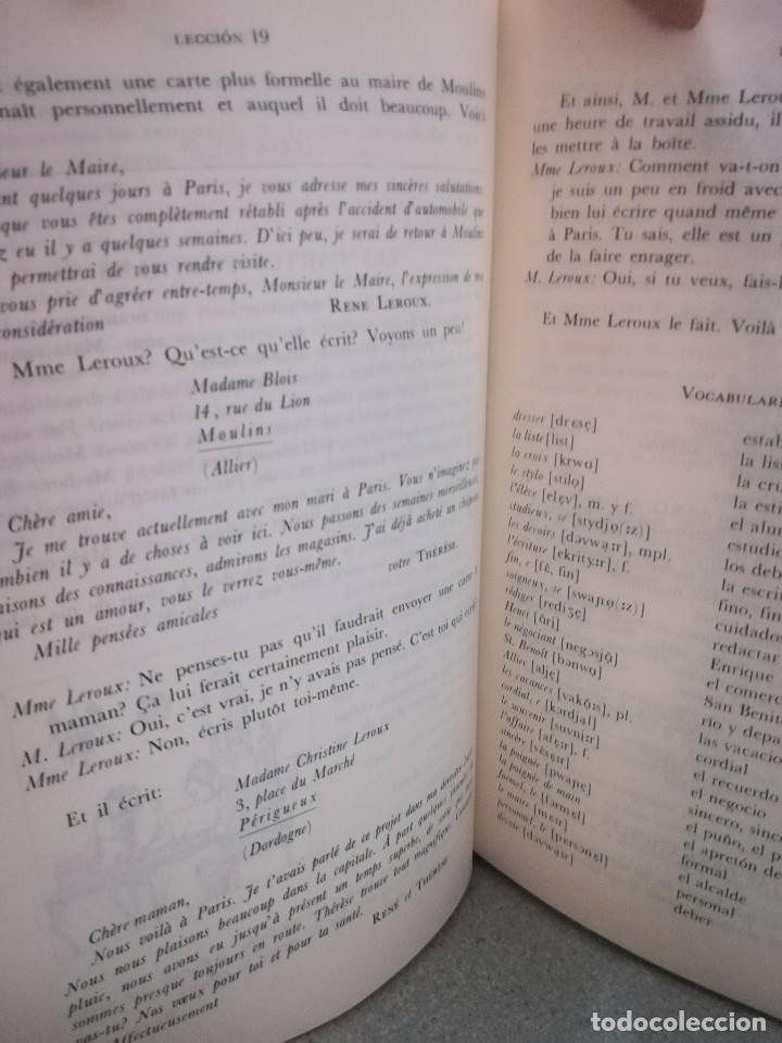 Libros antiguos: CURSO AUDIOVISUAL DE FRANCES. Ernst Kenter. VERGARA - Foto 4 - 100175543