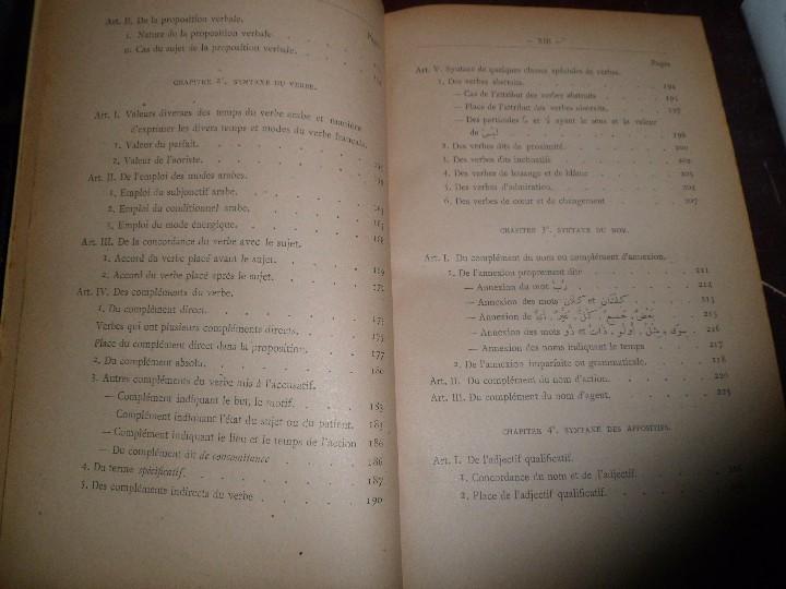Libros antiguos: COURS DE LANGUE ARABE. CORRIGÉ DES EXERCICES. P. BELOT TEXTO FRANCÉS - ÁRABE. AÑO 1922. RARO - Foto 8 - 44057339