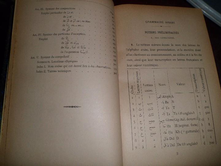 Libros antiguos: COURS DE LANGUE ARABE. CORRIGÉ DES EXERCICES. P. BELOT TEXTO FRANCÉS - ÁRABE. AÑO 1922. RARO - Foto 10 - 44057339