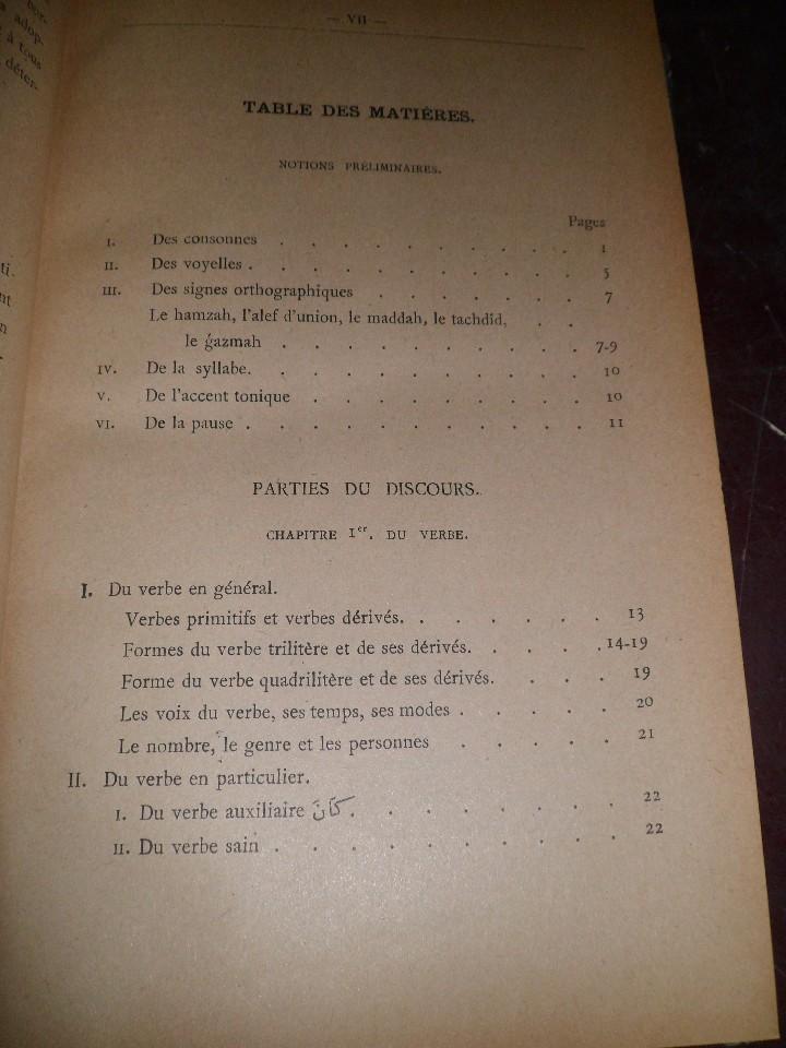 Libros antiguos: COURS DE LANGUE ARABE. CORRIGÉ DES EXERCICES. P. BELOT TEXTO FRANCÉS - ÁRABE. AÑO 1922. RARO - Foto 12 - 44057339