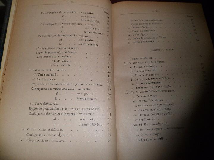 Libros antiguos: COURS DE LANGUE ARABE. CORRIGÉ DES EXERCICES. P. BELOT TEXTO FRANCÉS - ÁRABE. AÑO 1922. RARO - Foto 13 - 44057339
