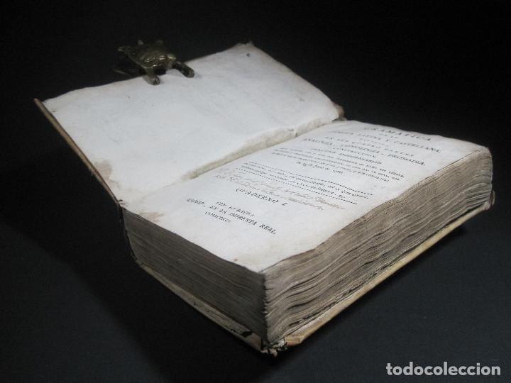 Libros antiguos: Año 1791 Raro Método completo para aprender latín 3 libros en 1 volúmen Castellano Pergamino - Foto 7 - 106908759