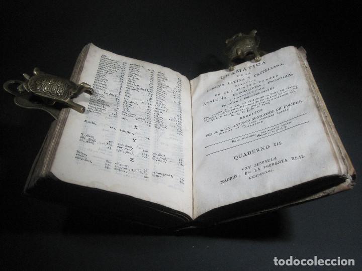 Libros antiguos: Año 1791 Raro Método completo para aprender latín 3 libros en 1 volúmen Castellano Pergamino - Foto 20 - 106908759