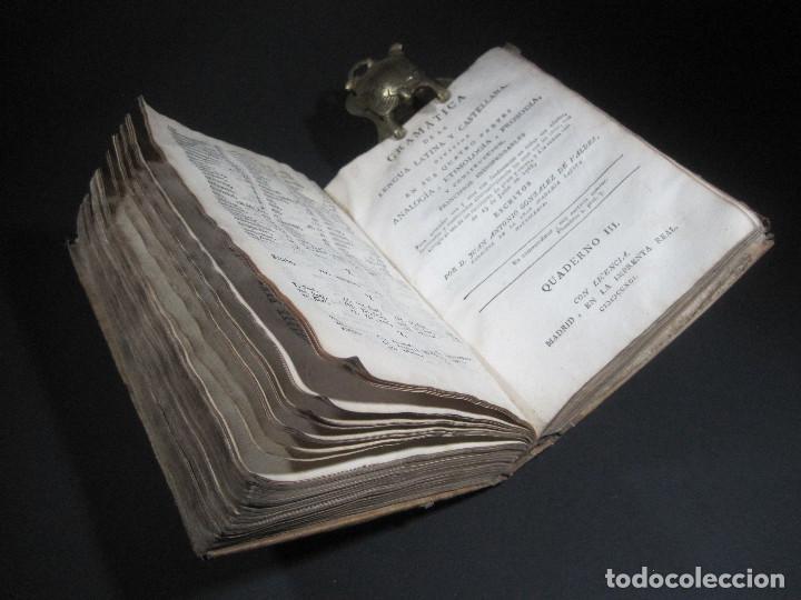 Libros antiguos: Año 1791 Raro Método completo para aprender latín 3 libros en 1 volúmen Castellano Pergamino - Foto 11 - 106908759