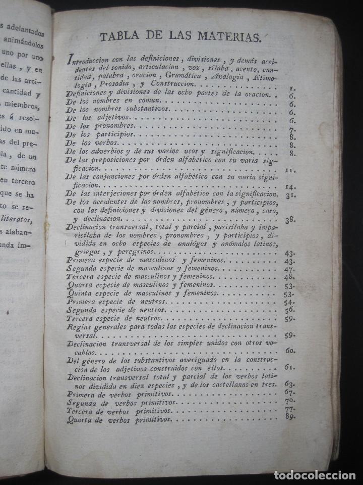 Libros antiguos: Año 1791 Raro Método completo para aprender latín 3 libros en 1 volúmen Castellano Pergamino - Foto 19 - 106908759