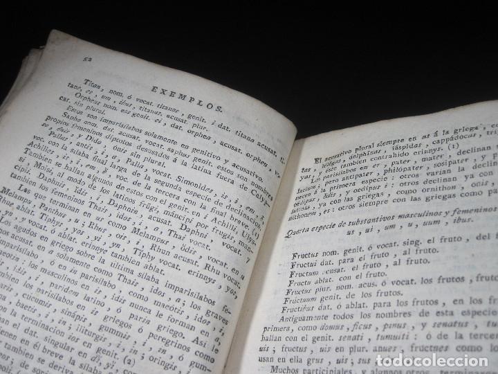 Libros antiguos: Año 1791 Raro Método completo para aprender latín 3 libros en 1 volúmen Castellano Pergamino - Foto 23 - 106908759