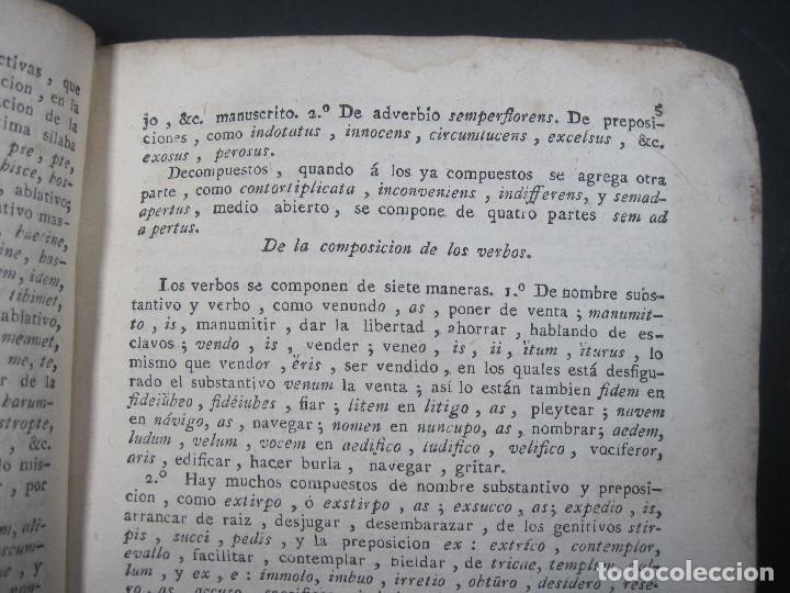 Libros antiguos: Año 1791 Raro Método completo para aprender latín 3 libros en 1 volúmen Castellano Pergamino - Foto 27 - 106908759