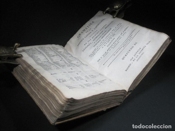 Libros antiguos: Año 1791 Raro Método completo para aprender latín 3 libros en 1 volúmen Castellano Pergamino - Foto 28 - 106908759