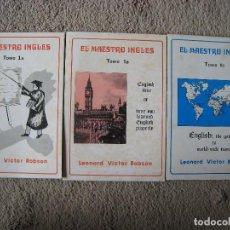 Libros antiguos: EL MAESTRO INGLES-LEONARD VICTOR ROBSON-MADRID 1977-TOMOS 1A,1B Y 1C. Lote 110235367