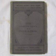 Libros antiguos: GRAMATICA ELEMENTAL DE LA LENGUA ALEMANA EMILIO OTTO 1904. Lote 113621551