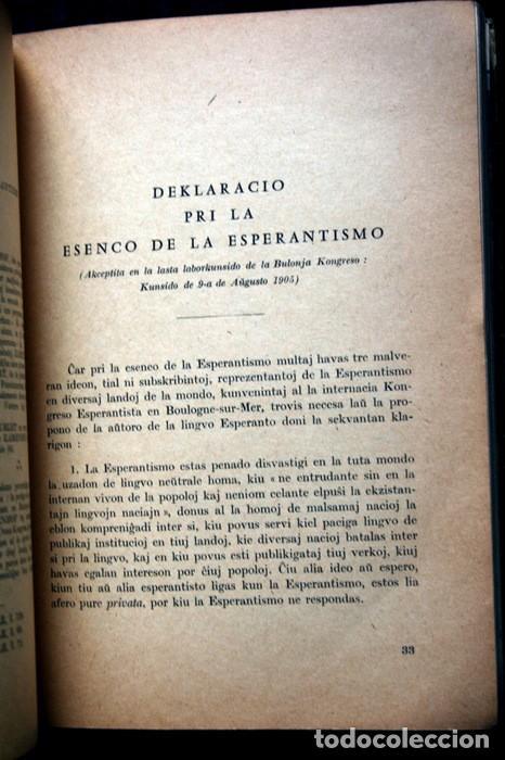Libros antiguos: FUNDAMENTO DE ESPERANTO - ZAMENHOF - 1963 - 355 páginas - Foto 8 - 115173779