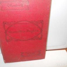 Libros antiguos: GRAMATICA INGLESA Y METODO PARA APRENDERLA EDUARDO BENOT 1929 OLLERDOFF REFORMADO. Lote 116647763