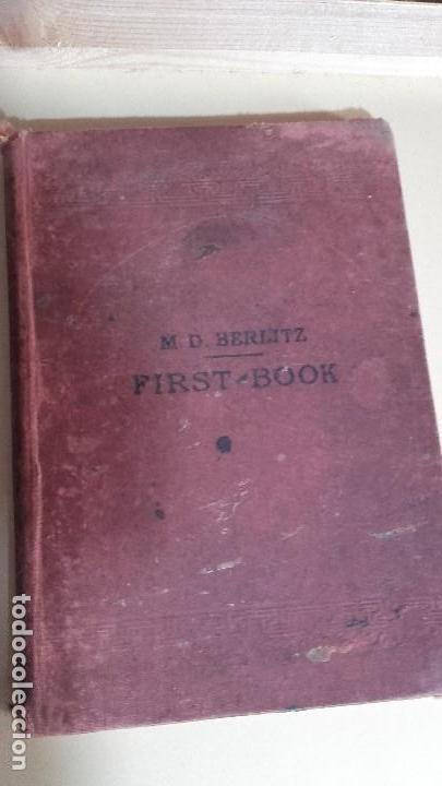 FIRST BOOK DE M.D BERLITZ (Libros Antiguos, Raros y Curiosos - Cursos de Idiomas)