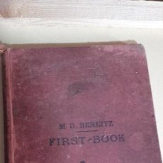 Libros antiguos: FIRST BOOK DE M.D BERLITZ. Lote 119569839