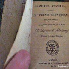 Libros antiguos: EL NUEVO CHANTREAU 1829. Lote 120049923