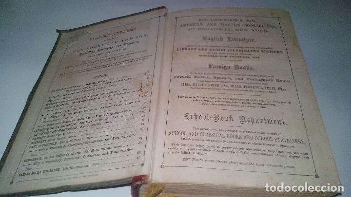 Libros antiguos: EL MAESTRO DE INGLES-FRANCISCO JAVIER VINGUT¿ 1861 ?-SELLO LIBRERIA LA PLUMA DE ORO-SANTIAGO DE CUBA - Foto 3 - 120986931