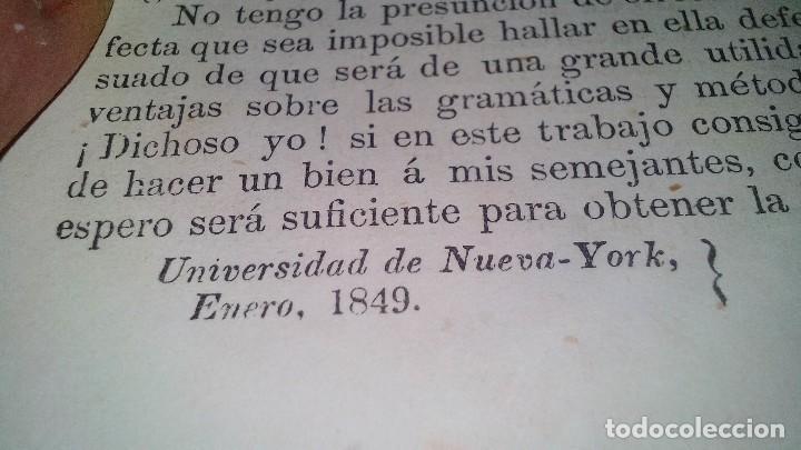 Libros antiguos: EL MAESTRO DE INGLES-FRANCISCO JAVIER VINGUT¿ 1861 ?-SELLO LIBRERIA LA PLUMA DE ORO-SANTIAGO DE CUBA - Foto 10 - 120986931