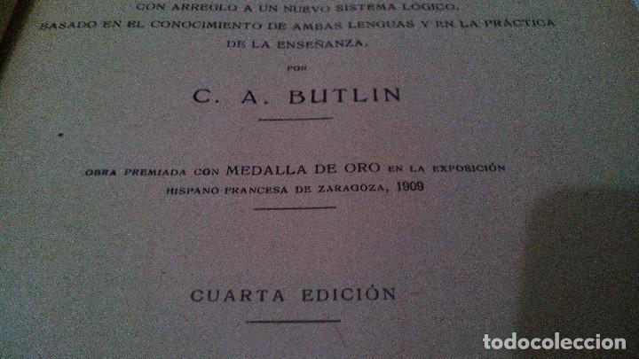 Libros antiguos: NUEVO METODO DE INGLES-C A BUTLIN-LIBRERIA D RIBO-1925 - Foto 5 - 120994991