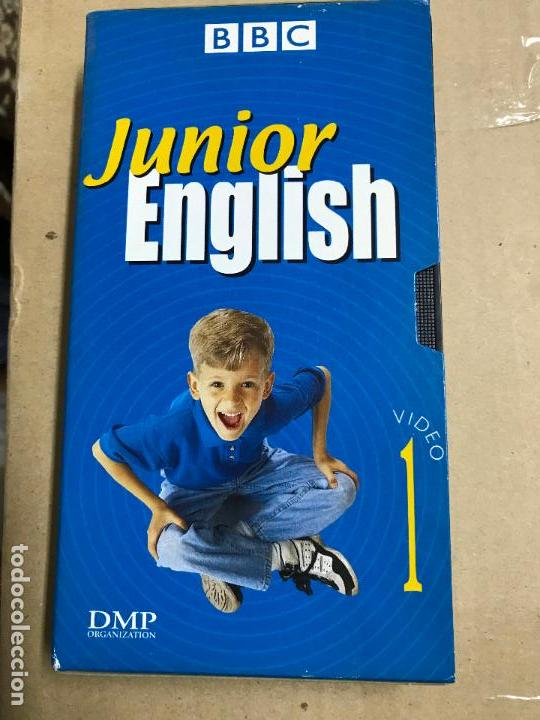 CURSO DE INGLÉS EN VHS, JUNIOR ENGLISH (EL INGLÉS CON MUZZY) BBC (Libros Antiguos, Raros y Curiosos - Cursos de Idiomas)