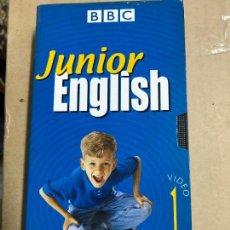 Libros antiguos: CURSO DE INGLÉS EN VHS, JUNIOR ENGLISH (EL INGLÉS CON MUZZY) BBC. Lote 121918327