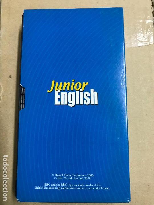 Libros antiguos: curso de inglés en VHS, JUNIOR ENGLISH (el inglés con Muzzy) BBC - Foto 4 - 121918327
