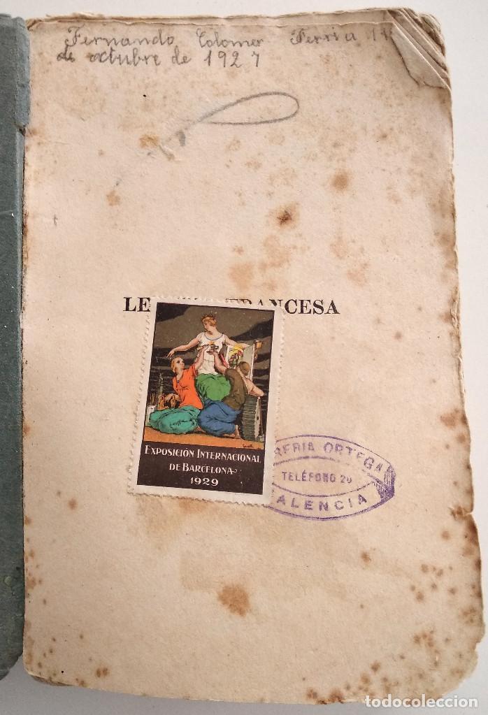 Libros antiguos: LENGUA FRANCESA - EJERCICIOS PRÁCTICOS - D. MANUEL CASTILLO - TOMO I - VALENCIA AÑO 1927 - Foto 4 - 123349571