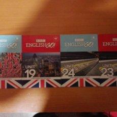 Libros antiguos: LOTE 4 CD-ROM ENGLISH GO! BBC . Lote 128388067