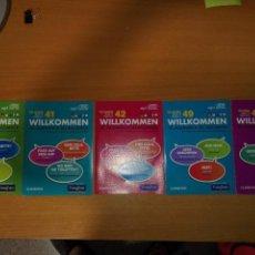 Libros antiguos: 5 CD-ROM WILLKOMMEN CURSO DE ALEMAN. VAUGMAN. Lote 128388499