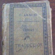 Libros antiguos: TEMAS DE TRADUCCIÓN (CURSO FRANCÉS) - F. ARAUJO - MENOR HERMANOS, TOLEDO, 1891. Lote 131107744